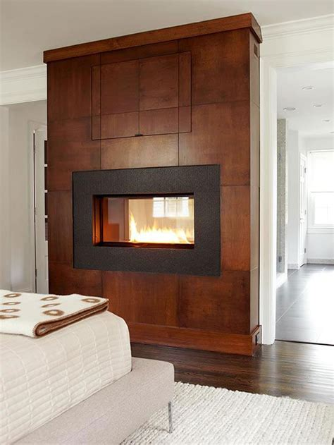 2 Sided Fireplace by Two Sided Fireplaces