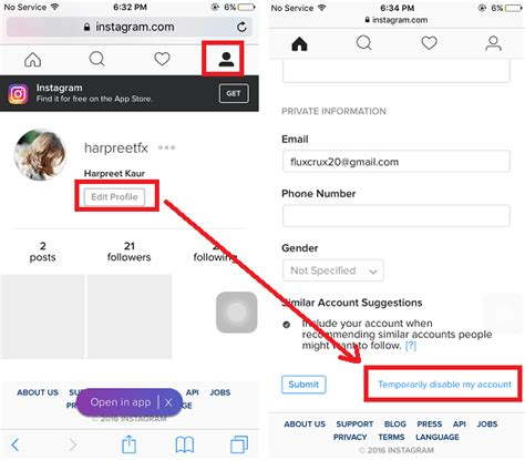 tutorial delete instagram how to delete instagram account permanently or temporarily