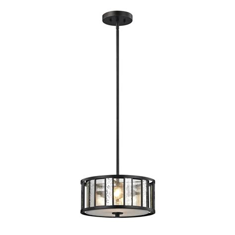 home depot pendant light shades filament design edith 3 light bronze pendant with silver