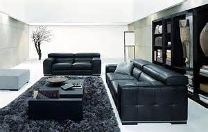 black livingroom furniture how to decorate your living room using black and white