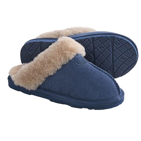 bearpaw loki 2 slippers bearpaw loki ii slippers suede sheepskin lining for
