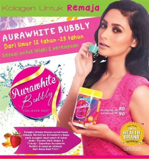 Pasaran Aurawhite Collagen cik bebeq shop aurawhite bubbly collagen dust by
