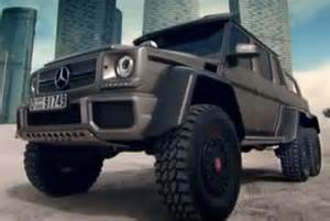 the mercedes g63 amg 6x6 makes its rounds in dubai