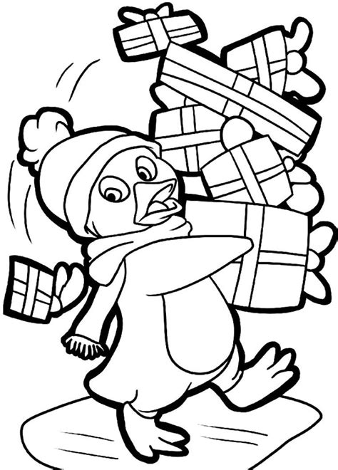 cute christmas animals coloring pages cute animal christmas coloring pages download and print