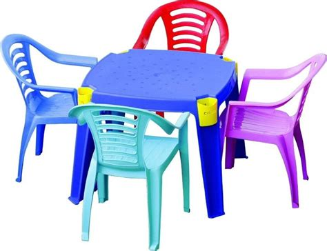 plastic table and chairs plastic chairs sahul trading corporation