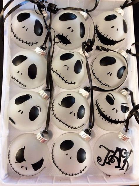 diy skellington decorations trees frosted glass and o connell on