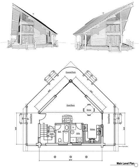 a frame cabin home building plans house blueprints log designs luxamcc a frame log cabin floor plans new cabin floor plans