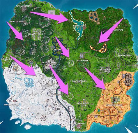 fortnite buccaneers bounty challenge map visit  pirate