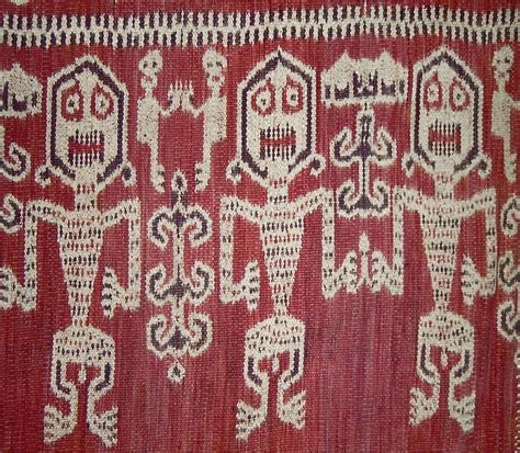 pattern batik kalimantan pua ritual cloth iban people west kalimantan cotton
