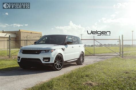 Wheel Offset 2015 Land Rover Range Rover Sport Flush Stock