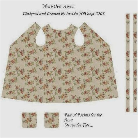 wrap around apron pattern uk a small hearts desire printable apron patterns and material