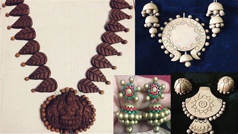 terracotta jewellery terracotta designs how to make