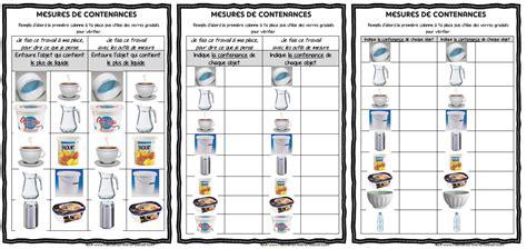 Maths Ateliers De Mesure De Contenances Ma Maitresse