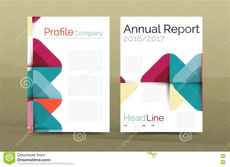 best company profile design download business company profile brochure template stock vector