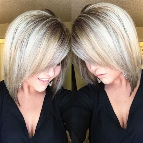 long angle for shoulder length hair 18 hot angled bob hairstyles shoulder length hair short