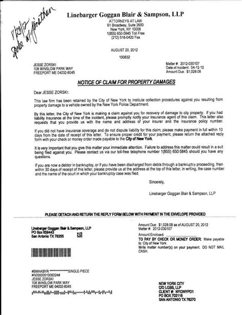 sle letter giving refund letter of agreement to pay for damages 28 images sle