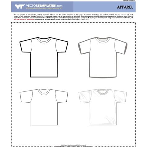vector t shirt templates download at vectorportal
