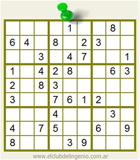 descargar sudokus para imprimir sudoku para principiantes el club del ingenio juegos