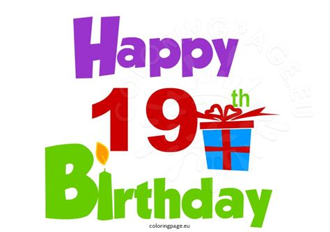 Happy 19th Birthday Quotes Happy 19th Birthday Pictures To Pin On Pinterest Pinsdaddy