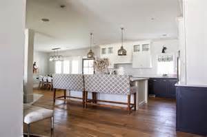 Height Of Upper Kitchen Cabinets by White Upper Cabinets Dark Lower Cabinets Transitional