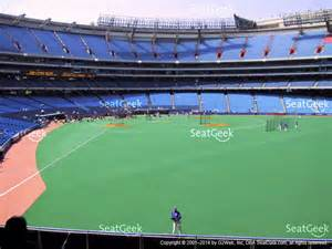 rogers centre section 107 seat views seatgeek
