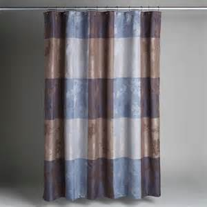 cannon silhouette blue brown plaid fabric