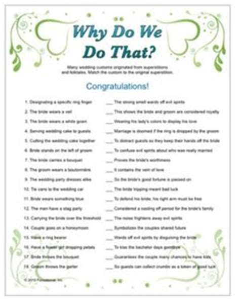 bridal shower 20 questions printable wedding shower game questions about bride and groom