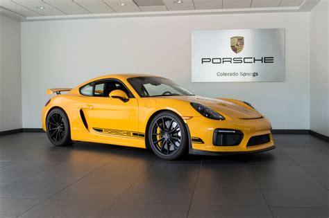 porsche signal yellow signal yellow 2016 porsche cayman gt4 german cars for