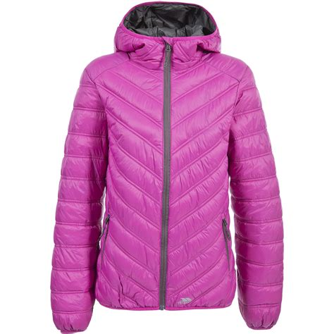 Hooded Padded Lightweight Jacket trespass womens release warm lightweight hooded