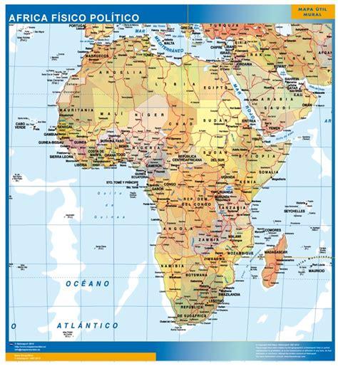 europa y africa mapa politico africa f 237 sico pol 237 tico mapas carreteras mapascarreteras