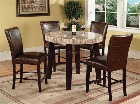 Espresso Bistro Table Dining Tables 9 Counter Height Dining Set Espresso Pub Tables And Chairs Counter