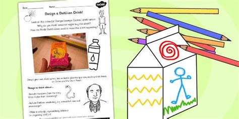 what colour paper did roald dahl write on 59 best images about roald dahl on activities