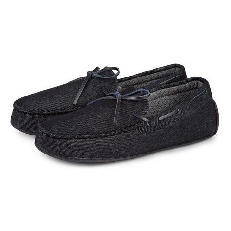 totes isotoner slippers uk isotoner mens denim moccasin slippers totes isotoner