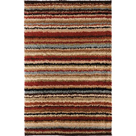 surya striped rug surya striped shag rug rugs shop the exchange
