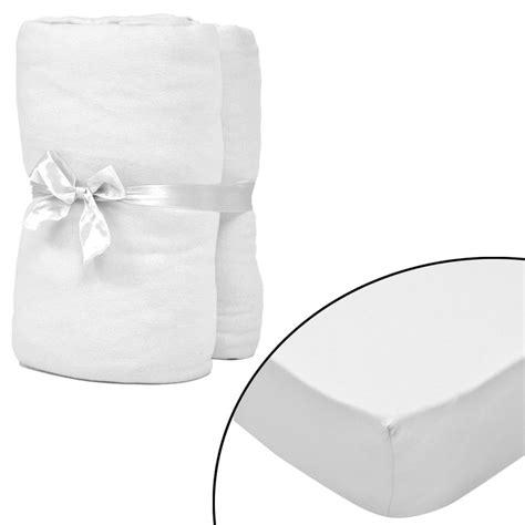 lenzuola x set 2 lenzuola con gli angoli bianco per materasso 180x200