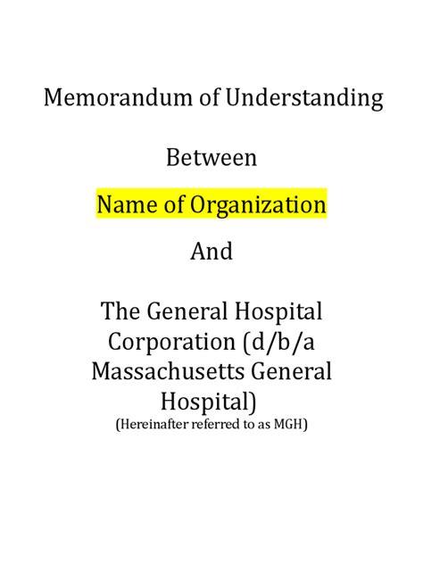 memorandum of understanding south africa template memorandum of understanding 6 free templates in pdf