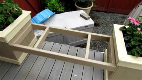 How To Make Planter by Planter Box Bench