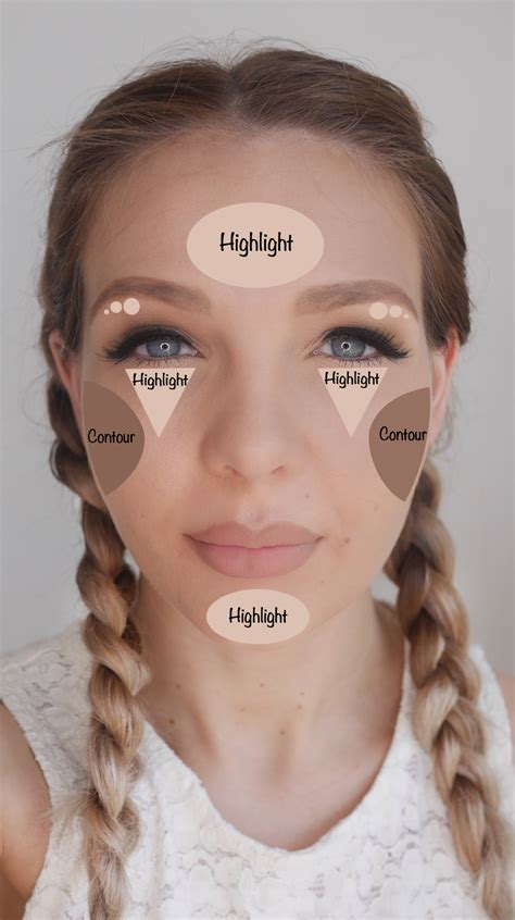 does a chubby face empthasize a forehead how to contour and highlight correctly for your faceshape