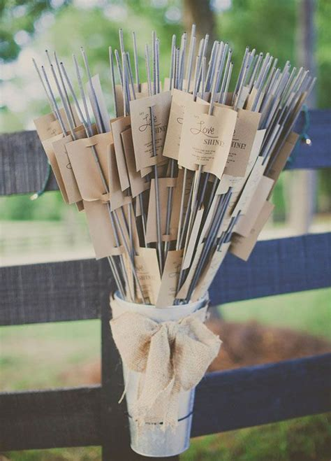 Wedding Favors Sparklers by Diy 10 Ways To Package Wedding Favors American Wedding