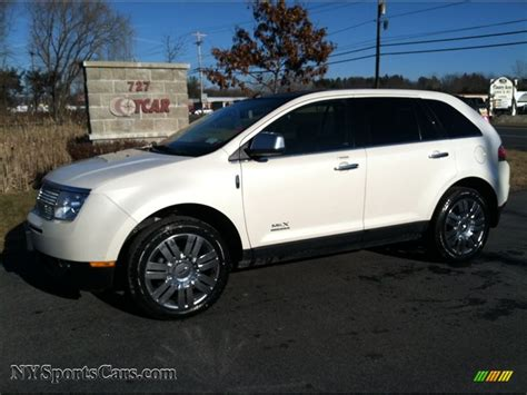 2008 lincoln mkx limited edition 2008 lincoln mkx limited edition awd in white chocolate