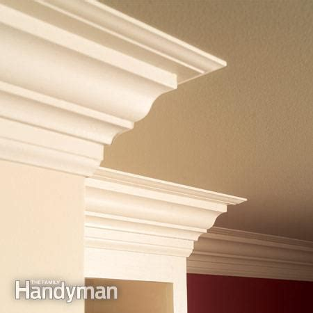 How To Install Ceiling Moulding by How To Install Crown Molding The Family Handyman