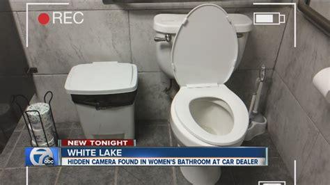 bathroom xvideos com camera found in women s bathroom at michigan dealership