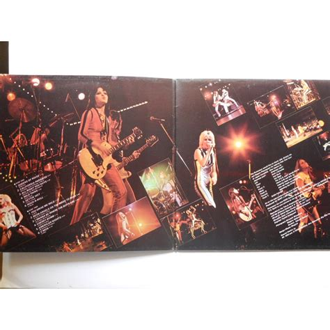 503329 the runaways kive in japan live in japan by the runaways lp gatefold with platine