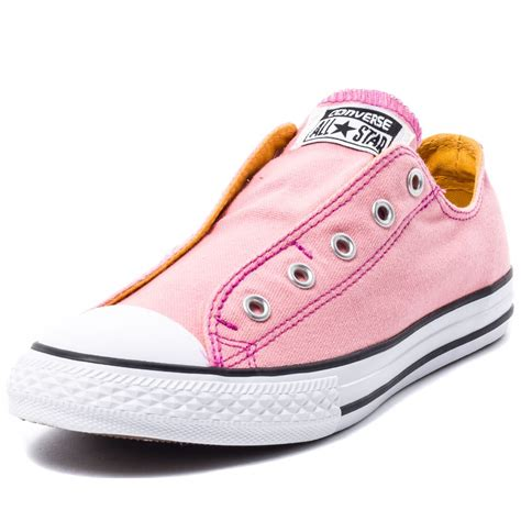 Sepati Converse Slip On Pink converse chuck all slip trainers in pink