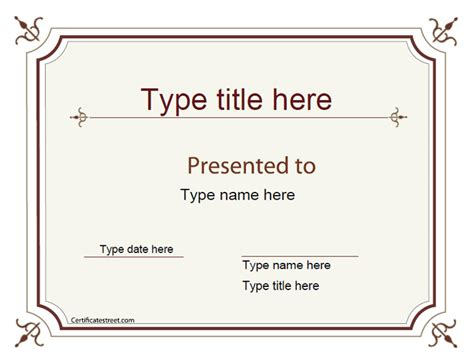 superlative certificate template blank certificates excellence award certificate