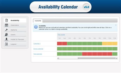 availability calendar template 2016 employee calendar template calendar template 2016
