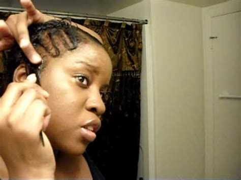 how to do freeze hair black short hair style quick finger waves and natural