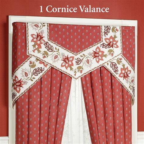 Cornice Valance Window Treatments Chateau Cornice Valance Window Treatment