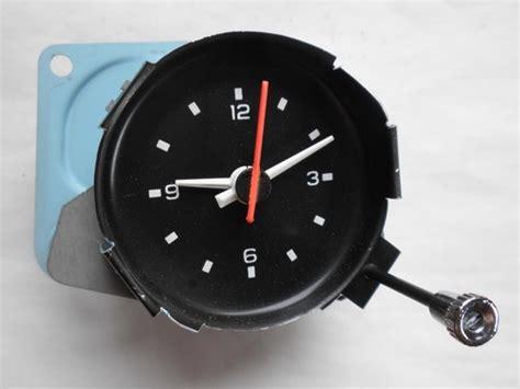 corvette clock repair 1980 1981 corvette clock oem c3 with nos knob also