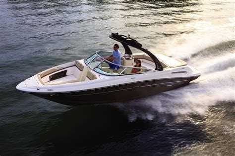 crownline boats reliability hear the hush sea ray 250 slx with quiet ride technology